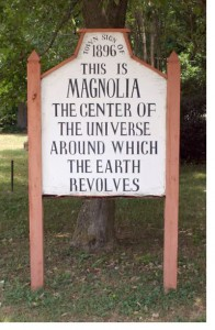 Magnolia's Universe sign